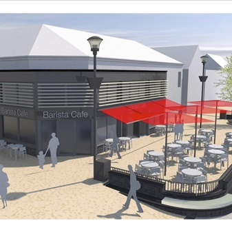 Proposed Cafe, Poundfield Shopping Centre