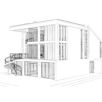 New Build House, Ogmore by Sea